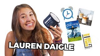 Lauren Daigle Reveals Her Favorite Things! (Dinner Recipe, Movie, Song on Her Album, and More!)