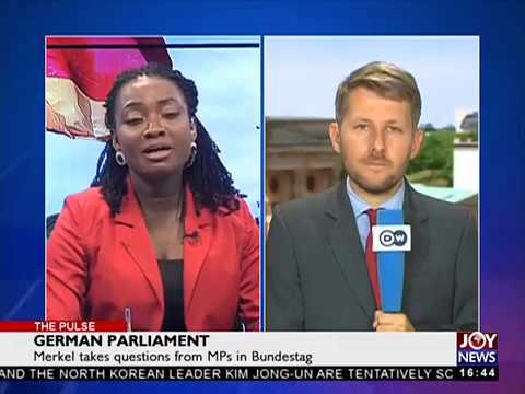 German Parliament - The Pulse on JoyNews (6-6-18)