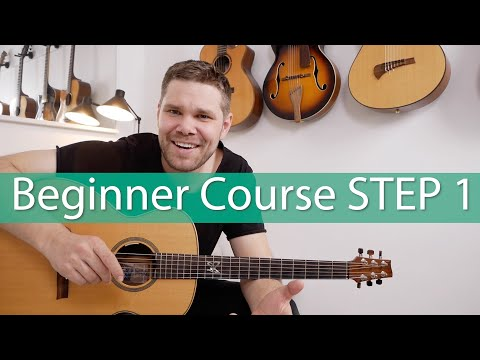 Beginner Guitar Lesson STEP 1