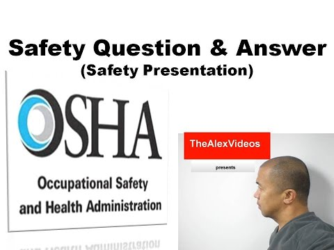 Health And Safety Questions And Answers Test