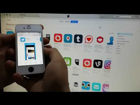 INSTALL FACEBOOK AND ALL SOCIAL  APP ON IPHONE 4 IOS 7.1.2 with itunes only
