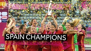 #WU19 EURO final highlights: Germany 0-1 Spain