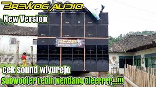 Begini Suara BREWOG Audio New Version Cek Sound Wiyurejo Pujon Malang