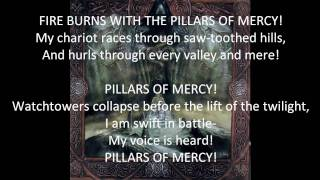 Absu - Pillars of Mercy (Lyrics)