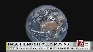 NASA: Earth's north magnetic pole is moving