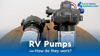 What is an RV Water Pump and How Does it Work?
