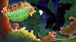 Dark Pegasus in the Night Skies?! 🐺🌲 Zoo Crafting: Redwolf Redwoods • #11