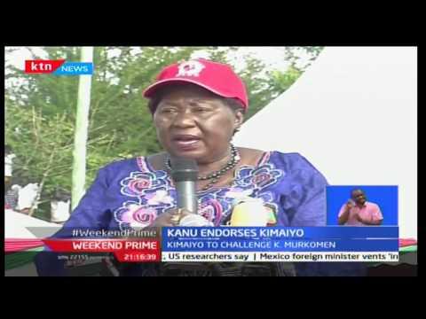 KANU endorses former IG David Kimaiyo's senetorial bid