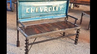 Upcycled Garden Furniture Ideas Scrap Metal Art By Raymond Guest