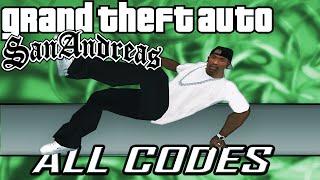GTA San Andreas - ALL CHEATS + Demonstration [PC/PS2/PS3/Xbox/Xbox360]