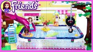 Lego Friends Big Swimming Pool in Olivia