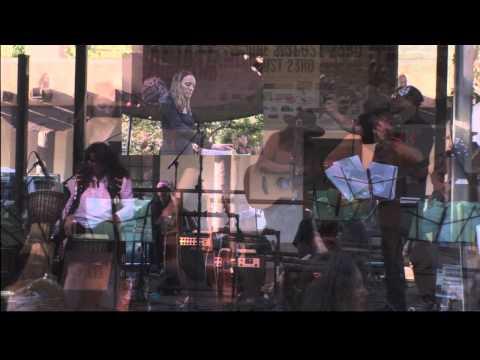 Indigie Femme performance vignette at 2013 Santa Fe Bandstand