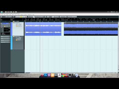 Cubase 6.5 Tutorial – 4: Editing Audio Clips (Basic)