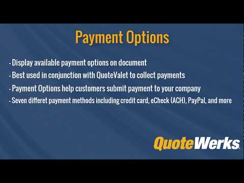 quotewerks quotevalet online quote delivery