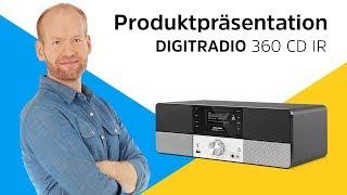 DIGITRADIO 360 / 360 CD / 360 CD IR | Klassische Eleganz und moderne Ausstattung. | TechniSat