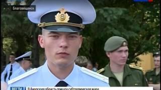 В ДВОКУ состоялся выпуск лейтенантов