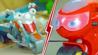 Ricky Zoom Deutsch ⚡Rickys Krise auf der Klippe! ⚡ Motorräder für Kinder   Spielzeug für Kinder