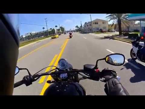 Bike Week 2015 Daytona Beach on Victory hammer 8-ball
