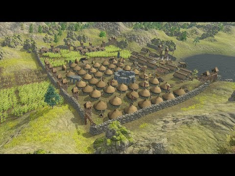 Dawn of Man | Ep. 11 | HUGE City Fortress Completed | Dawn of Man City Building Tycoon Gameplay