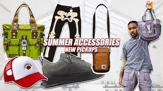 BEST ACCESSORIES FOR SUMMER OUTFITS 2020 | Men's Fashion Clothing Haul (New Pickups)