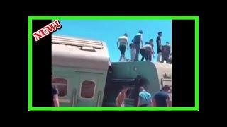Появился видеоролик с места крушения пассажирского поезда Астана-Алма-Ата в Казахстане