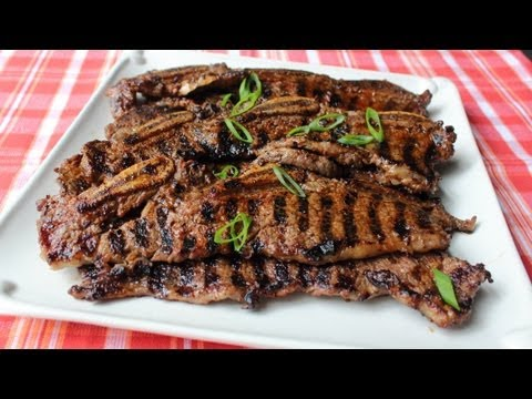 Kiwi & Chili-Rubbed Beef Short Ribs – Grilled Beef Short Ribs with Kiwi & Chili Spice Rub