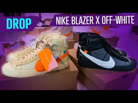 "DROP - NIKE BLAZER MID X OFF-WHITE ""SPOOKY PACK"""