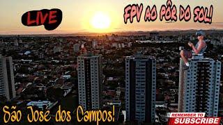 FPV ao pôr do sol em São José dos Campos!