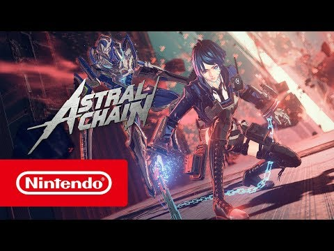 ASTRAL CHAIN - E3 2019 Trailer (Nintendo Switch) thumbnail
