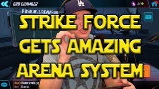 MSF Gets SWGOH Style Arena System!! | Marvel: Strike Force
