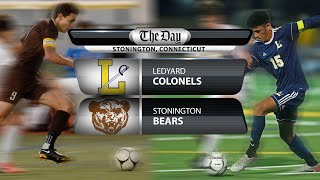 Full replay: Ledyard at Stonington boys' soccer