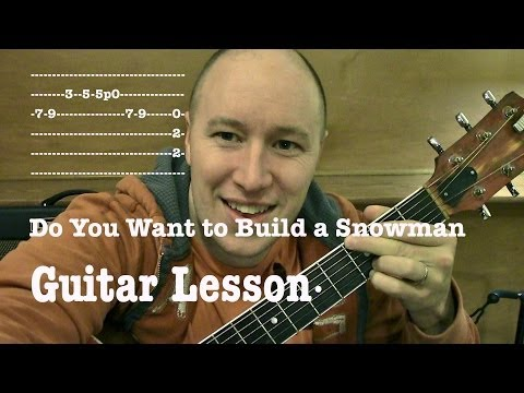 How To Play Do You Want To Build A Snowman?