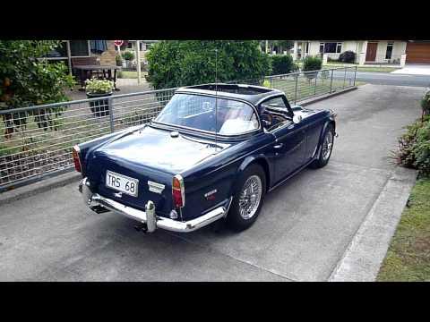 1968 Triumph TR5 Quick Look