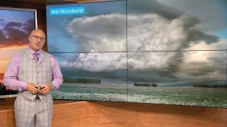 The Science Behind a Microburst | Weather Wisdom