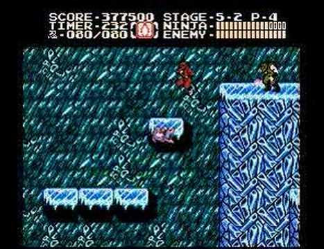ninja gaiden 2 nes walkthrough