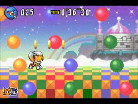 Sonic Advance 3 Walkthrough - Ocean Base 3: 41