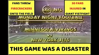 The DISASTROUS Monday Night Football Game at Shea Stadium | Vikings at Jets (1979)