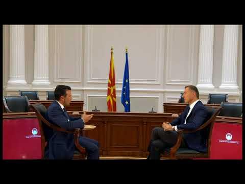 Η συνέντευξη του Ζόραν Ζάεφ αποκλειστικά στην ΕΡΤ