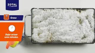 Cómo Limpiar Una Plancha De Cocina | Quitagrasas Zotal Hogar