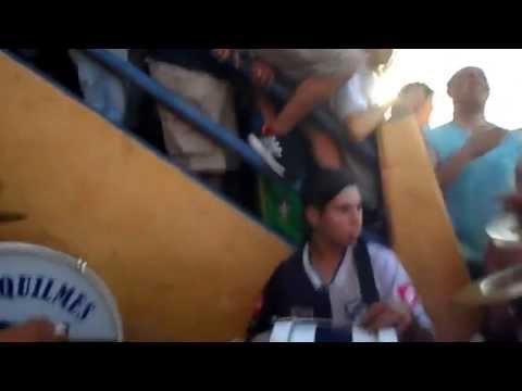 """""""Entrada de Indios Kilmes en la bombonera - febrero 2013"""" Barra: Indios Kilmes • Club: Quilmes • País: Argentina"""