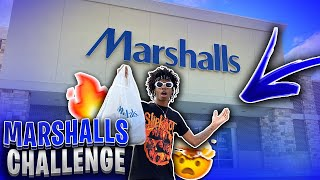 PICKING OUT A FIRE OUTFIT IN MARSHALLS 😱🔥 | OUTFIT CHALLENGE