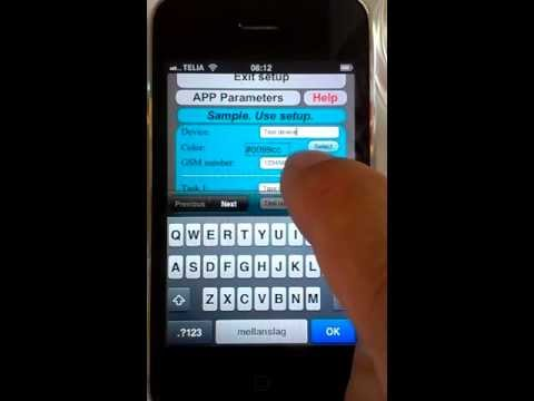 Video of Sms Remote Control GSM