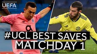 MARCHESÍN, DE GEA: #UCL Best Saves, Matchday 1