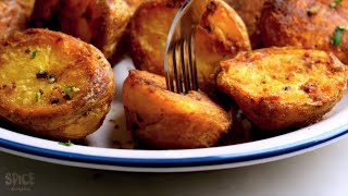 Perfectly Roasted Potatoes at Home With/ Without Oven