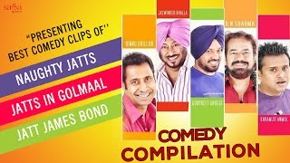 Best Of Punjabi Comedy | All Time Best Comedy Clips | Funny Punjabi Comedy Scenes | Sagahits