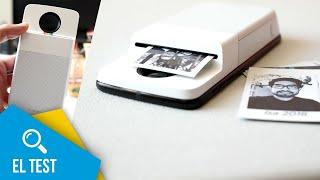 Moto Insta-Share Printer en español | El test