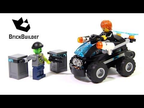 Vidéo LEGO Ultra Agents 70160 : Le raid du 4x4
