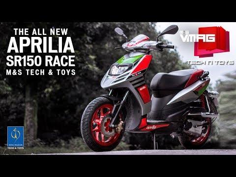 Aprilia SR 150 Race Review | Scooter that's as good as a bike | Nepal Telecom Tech & Toys | M&S VMAG