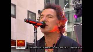 BRUCE SPRINGSTEEN & THE E STREET BAND - LONG WALK HOME, NBC Today Show, 2007
