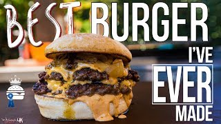 The Best Burger Ive Ever Made | SAM THE COOKING GUY 4K